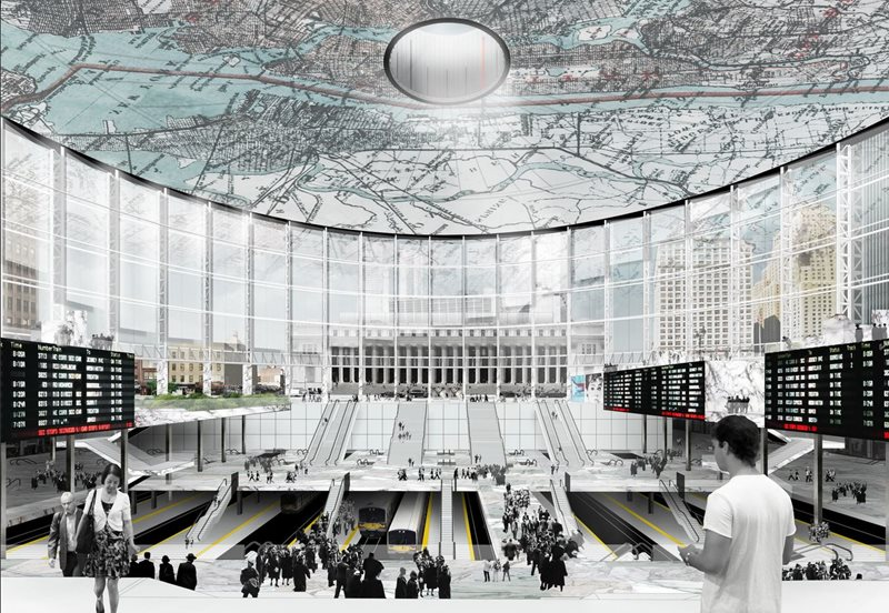Madison Square Garden redevelopment could encourage commute to Midtown